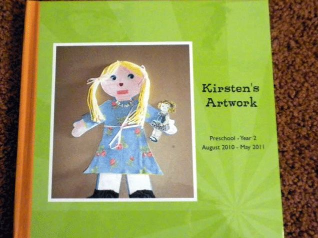 Create Photo Book from Photos of Kids Artwork