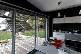vue volet papillon pare soleil h shutters pinterest papillons. Black Bedroom Furniture Sets. Home Design Ideas