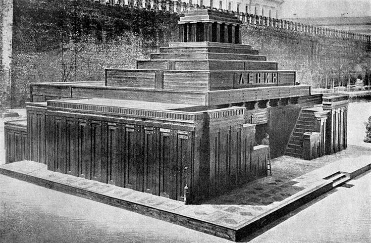 Aleksey Shchusev: Lenin's Tomb 1924