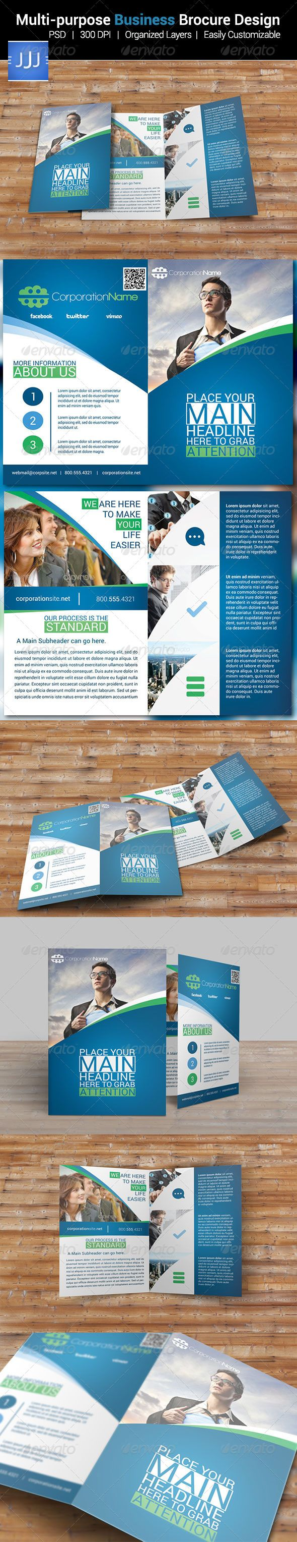 Best Brand Book Images On   Brochure Template Brand