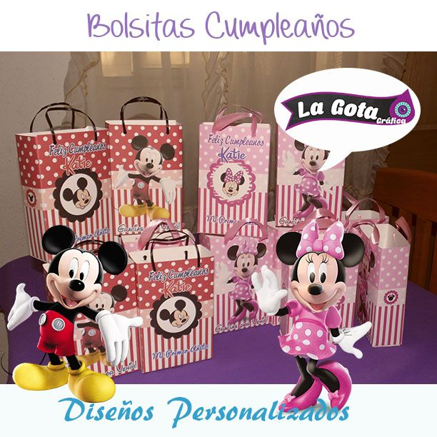 Bolsas Minnie