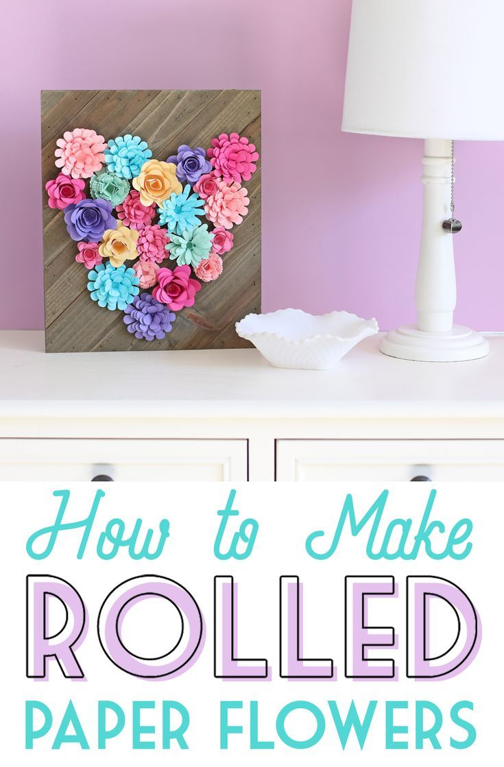 Rolled Paper Flower Sign Crafts And Diy Pinterest Rolled Paper
