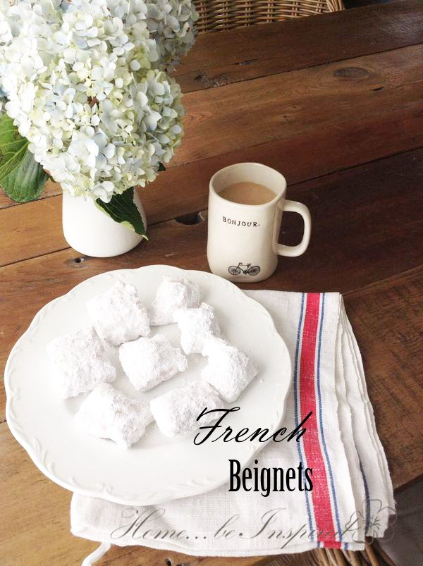 Café de Monde Beignet Mix from World Market, taste just like the ones in New Orleans