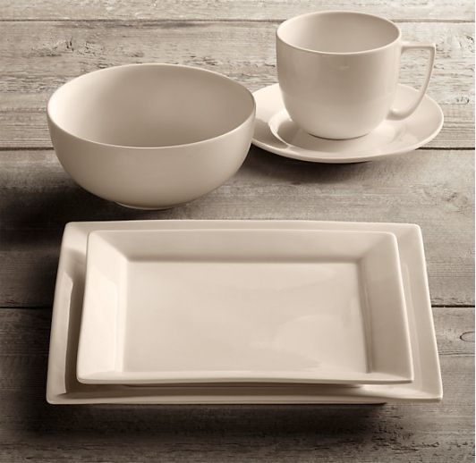 Chinese Porcelain Square Rimmed Dinnerware Set with Cereal Bowl & 21 best Dinnerware images on Pinterest | Casual dinnerware Dish ...