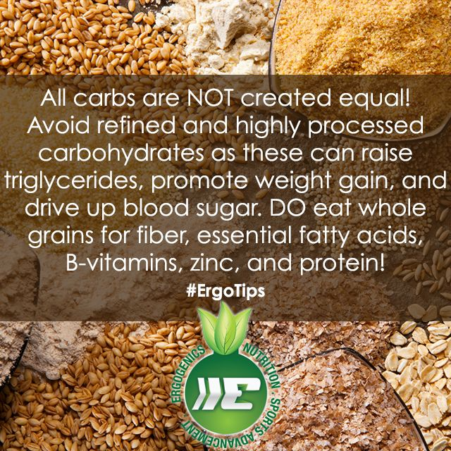 Are you getting enough whole grains? #ErgoTips #healthtip #plantbased