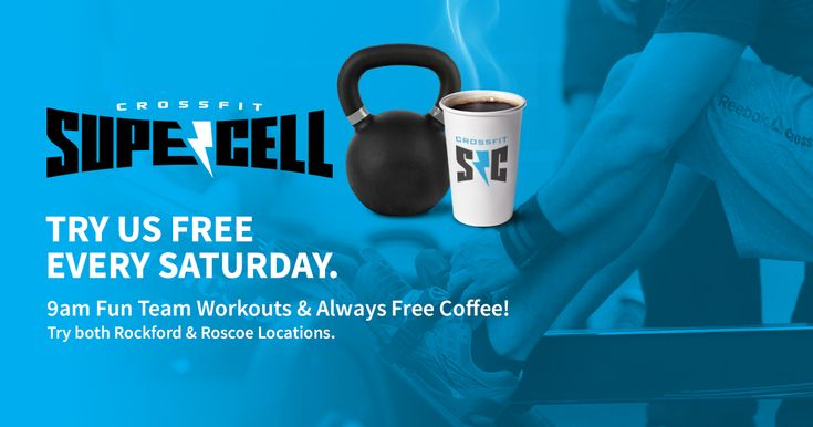 Rockford & Roscoe's only CrossFit gym & chiropractic wellness center. Free to try every Saturday at 9am, both locations. Month-to-month memberships and drop-in rates available.