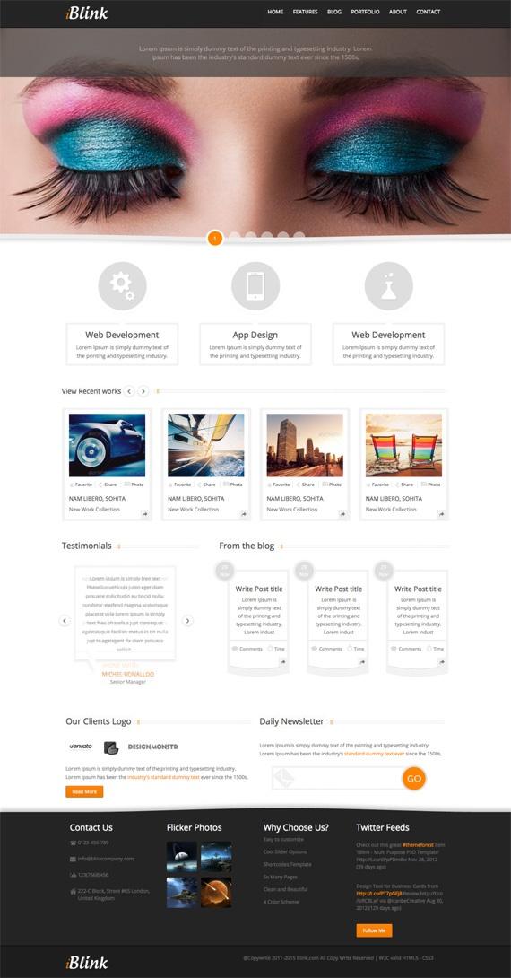42 Killer HTML5 Themes
