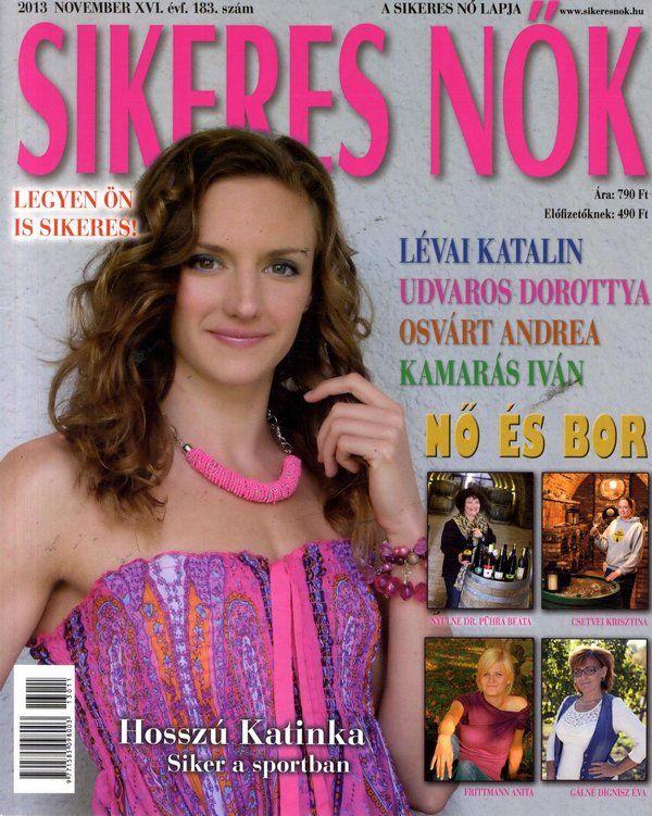 Hosszú Katinka (2013.11. Sikeres nők) #HosszuKatinka