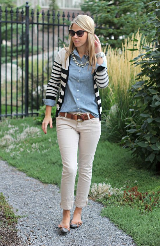 9 chic fall outfits with pants for the office - Page 2 of 9 - women-outfits.com