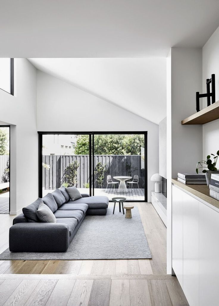 Home Is Where You Feel At Home And Are Treated Well Thespacepoem Com In 2020 Minimalist House Design Modern Minimalist Interior Simple House Design