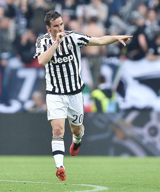 Juventus show, poker da scudetto con il Palermo - Corriere dello Sport #Padoin