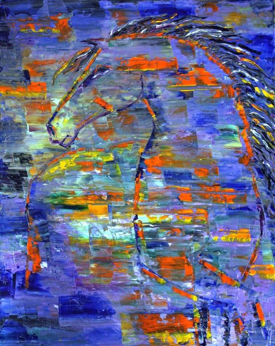 40 best abstract horse inspiration images on pinterest for Cool paintings for sale