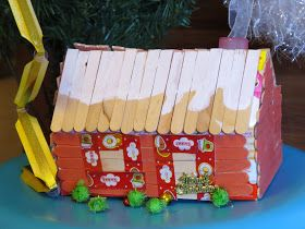 Ruby Kwok's painting: Christmas House