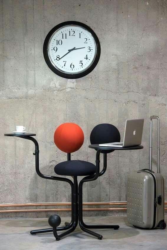 Globe chairs by Peter Opsvik
