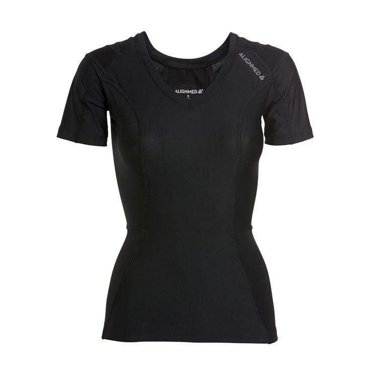 Posture Shirt 2.0 aktiverer og stimulerer muskler og led for en sund og rank kropsholdning.