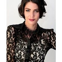 Gatsby Long Sleeved Lace Shirt - $149.00