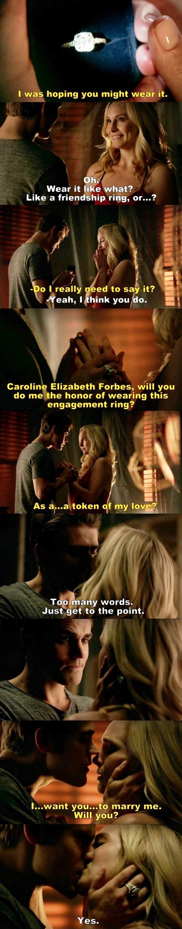I died during this scene! I am so happy for them even though they are fictional characters...
