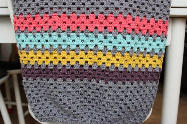 Rumfang: Hæklet tæppe