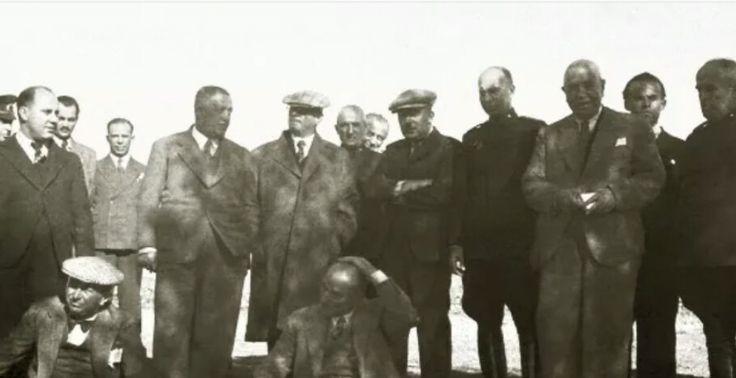 Atatürk'ün Viranşehir harabelerini ziyarei 21 Mayıs 1938
