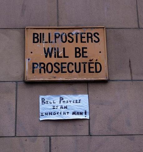Free Bill Posters!