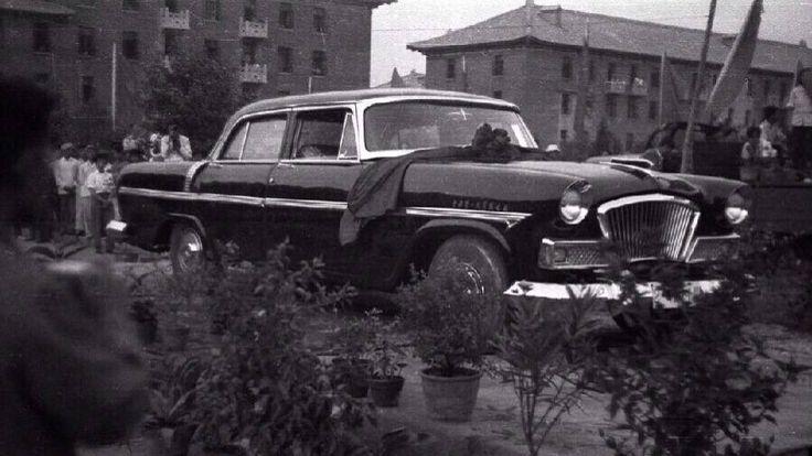 the first hongqi brand car since 1958!