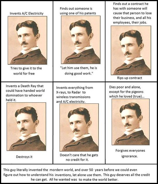 Nikola Tesla Was Awesome