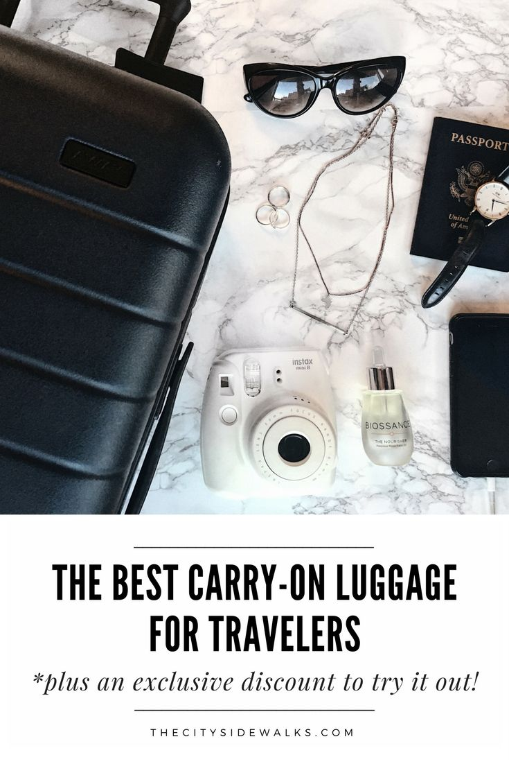 Are you looking for the best carry-on luggage to use this year? Check out which carry-on luggage I think is the best for travelers to use, plus get an exclusive discount to try it out!