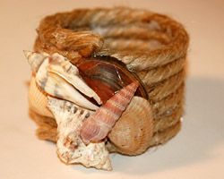 sea shell napkin rings