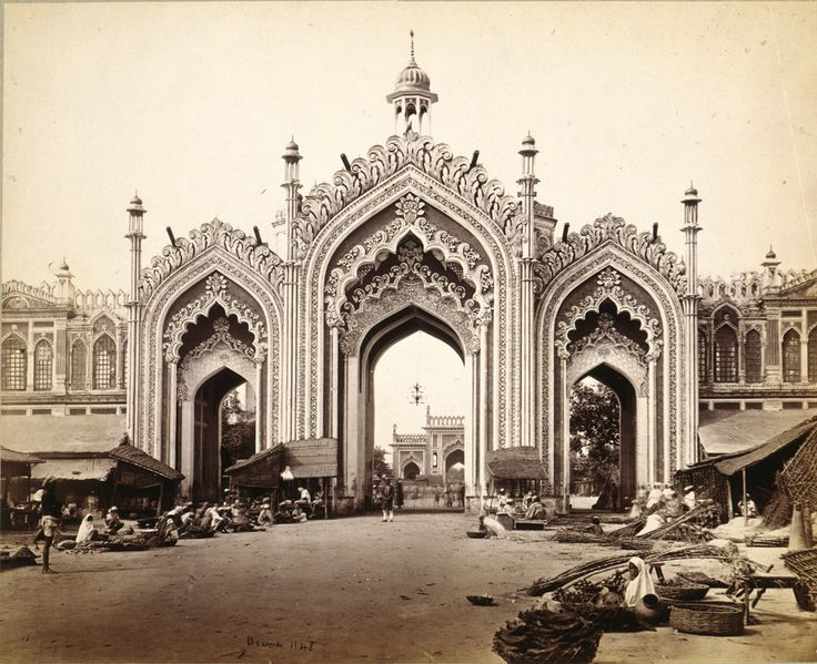Photograph of Lucknow, India Samuel Bourne 1863-1866 Albumen print from wet collodion on glass negative