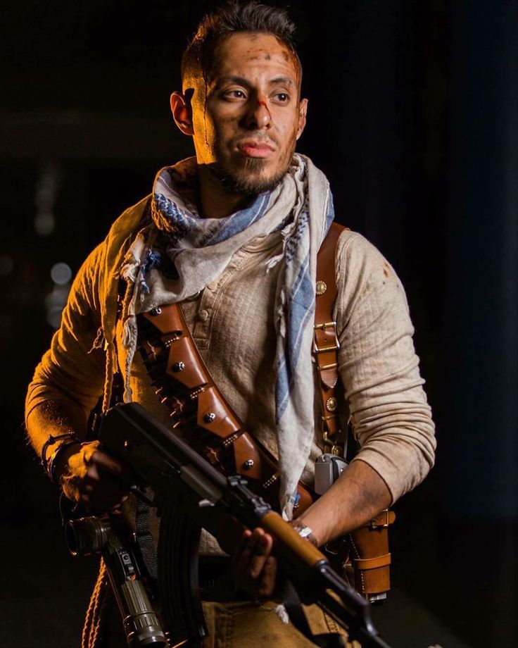 BC - DANNY LEE: I'm a huge fan of the Uncharted series on PS and Ben Montes @metahuman_activated has done a fantastic job at capturing the character of Nate. Please check out his page and give a follow.  Page Model: @metahuman_activated . . .  Nonchalant Nate is nonchalant. : Art Segovia Photography  #cosplayer #menofcosplay #photoshoot #dedication #photographer #nathandrake #portraitphotography #malemodel #fitness #handsome #rugged #videogames #ps4 #gamer #uncharted #action #desert…