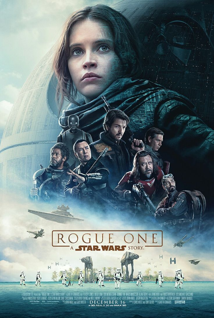 Star Wars:Rogue One movie poster