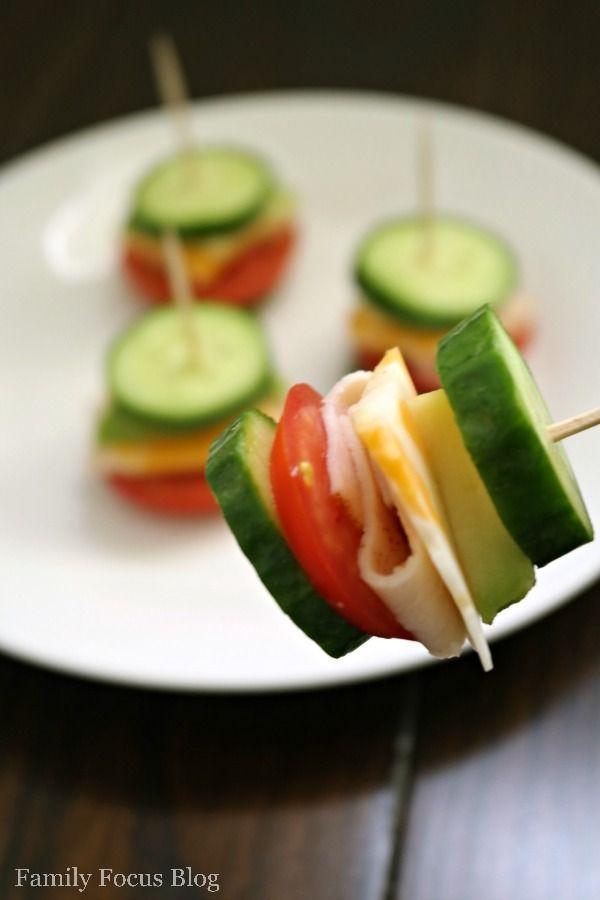 Gluten Free Cucumber Sandwiches- a great snack for kids #glutenfree