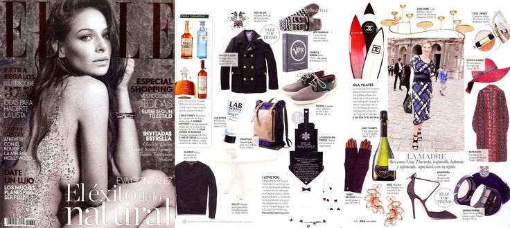 Scotch & Soda featured in Elle Spain | December 2014