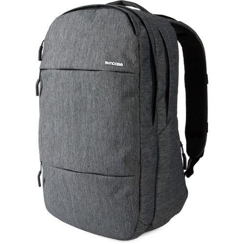 "Incase Designs Corp City Backpack for 17"""" MacBook Pro - Heather Black / Gunmetal Gray"