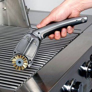 Smart BBQ! Cordless Power Grill Brush - Rotary Brush Power by JLR Gear. $39.95. Replacement Brush Head. Powerful Brass Bristle Rotary Brush Action!. Built-In Stainless Steel Scraper for Extra-tough Grill Residue!. * Let's face it; elbow grease is no match for burnt-on grill grease. * If you're a hearty, carnivorous grill master, your grill's got layers caked upon layers of this stuff; carbon-bonded to every surface of your fire-breathing meat machine. Take pride ...