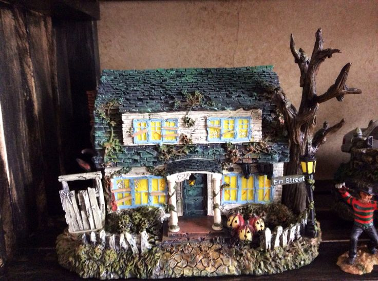 A nightmare on elm street house model