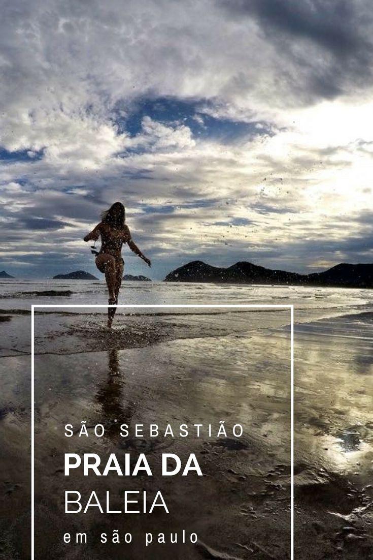 A praia da Baleia, em São Sebastião, é uma das melhores praias do litoral norte de São Paulo! Conheça essa e outras praias no post: https://viajandocomsy.com.br/melhores-praias-de-sao-sebastiao/