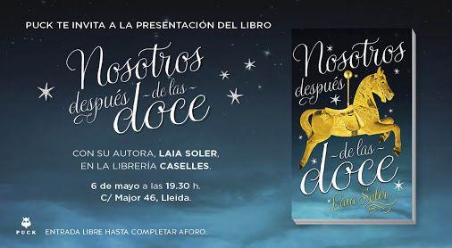 Presentación de 'Nosotros después de las doce' de Laia Soler en Lleida el 6/5