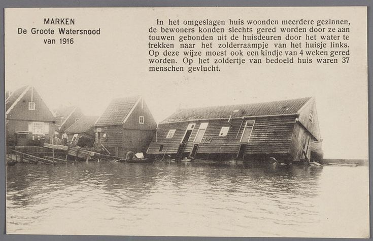 Marken watersnoodramp 1916