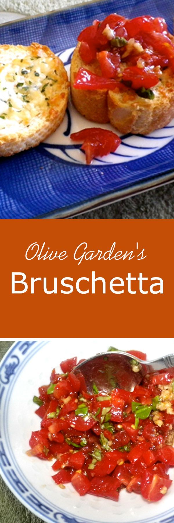This wonderful Olive Garden's Bruschetta recipe is sure worth a try! Delicious :)