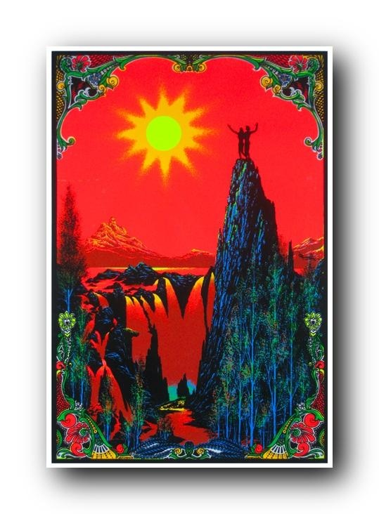 vintage blacklight poster | Posters and Tapestries | Pinterest