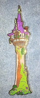 Disney Fantasy Pin Rapunzel Tangled Tower Jumbo Stained Glass Pin On Pin in Collectibles, Disneyana, Contemporary (1968-Now)   eBay