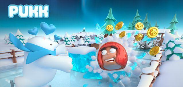 """Pukk - un nuovo e divertente """"runner invernale"""" per iOS e Android!"""