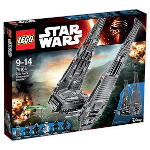 LEGO® Star Wars™ Kylo Ren's Command Shuttle™ 75104 – Target Australia