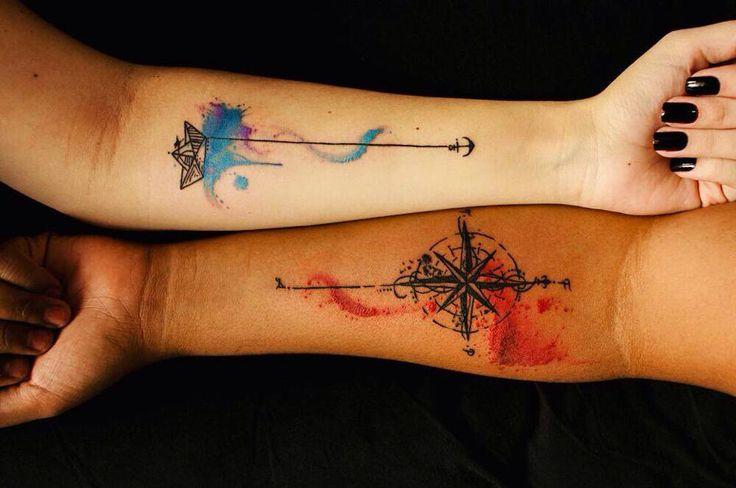 arrows and watercolor