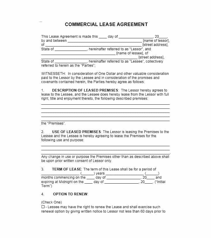 12 Lease Agreement Templates Lease Agreement Rental Agreement