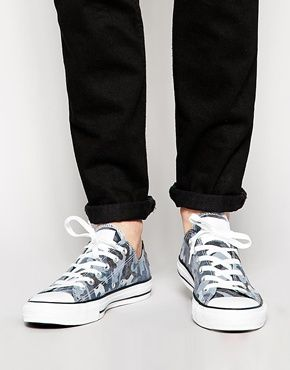 Converse Ox Navy Trainers