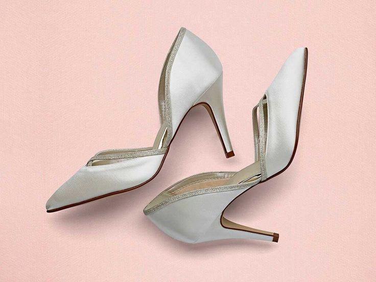 Georgia - Chic Satin Court Shoes