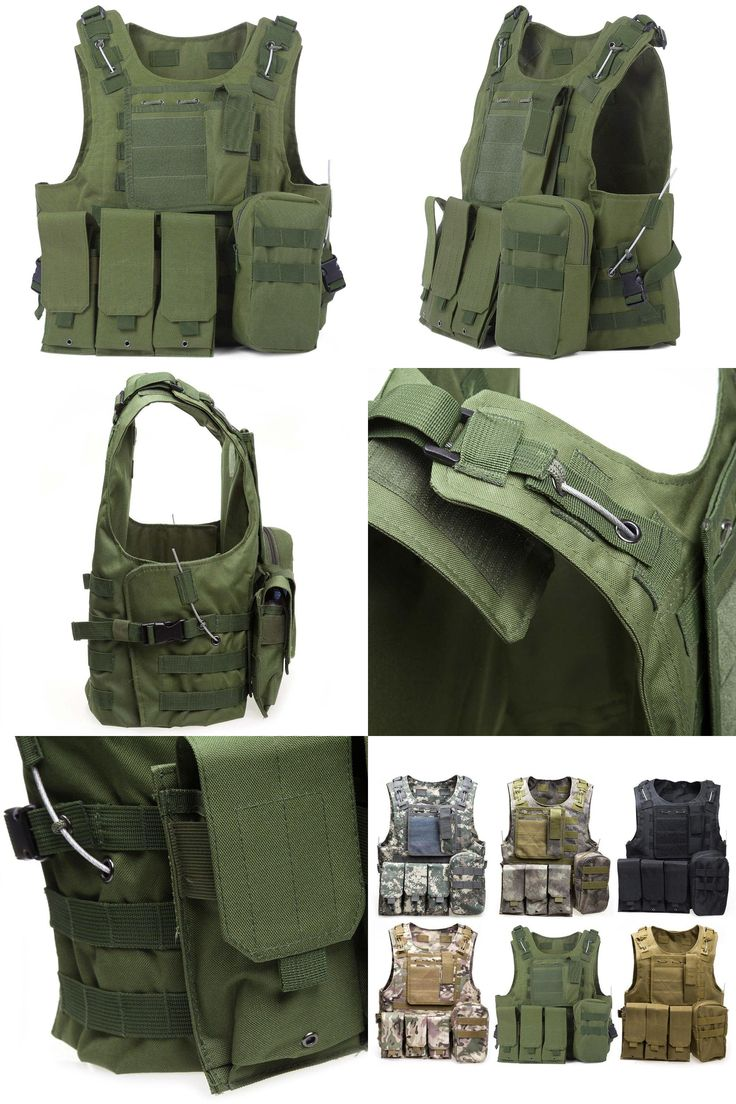 [Visit to Buy] Newest Style Amphibious Tactical Military Vest Molle Waistcoat Combat Assault Plate Carrier Vest Hunting Protection Vest Oxford #Advertisement