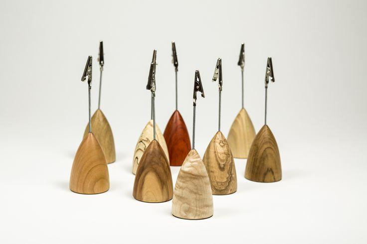 Memo clips - Ginger Wood by Franz Keilhofer
